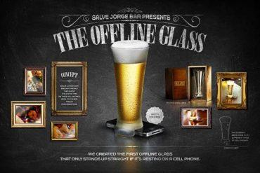 Offline čaša za pivo i držač mobitela