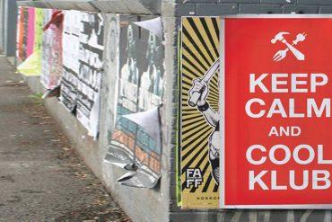 Ceep calm slogan