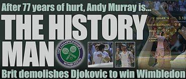 Andy Murray pobjednik Wimbledona 2013.
