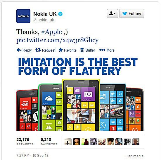 Nokia hvala Appleu