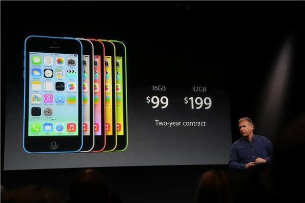 Iphone 5C bez