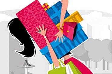 trcanje kupovina odjece