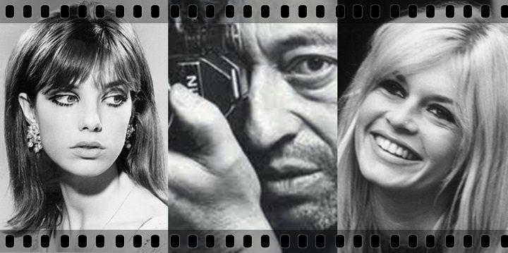 Serge Gainsbourg Jane Birkin Brigitte Bardot