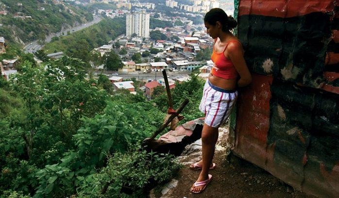 Caracas - iz perspektive ove žene teško je vejrovati da je riječ o najskupljem gradu na svijetu  Foto: Wiki