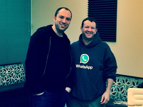 Jan Koum i Brian Acton