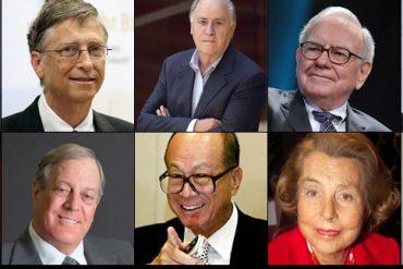 Milijarderi: Činjenice o deset najbogatijih ljudi na svijetu