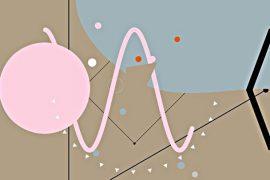 stranica Patatap nudi sinesteziju zvuka i slike tonova i boja