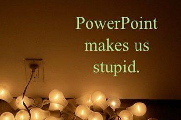 powerpoint zaglupljuje