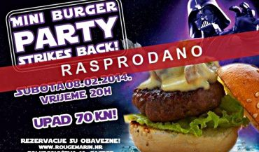 rougemarin rasprodan burger party