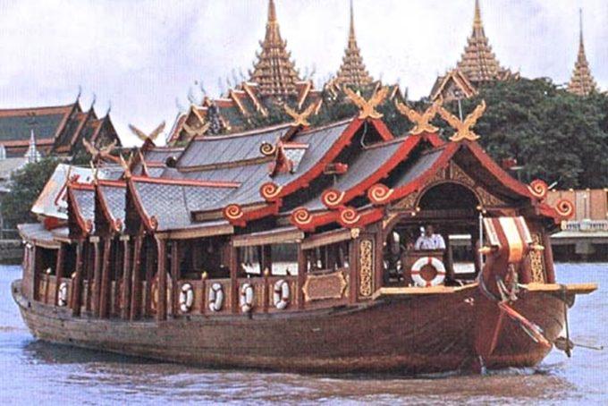 Chao Praya rijeka Tajland
