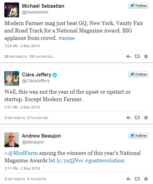 Modern Farmer Twitter