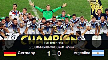 germany njemacka prvak svijeta 2014