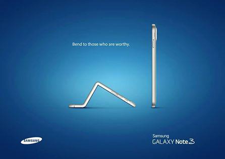 Apple se savija a Samsung koristi priliku za promociju