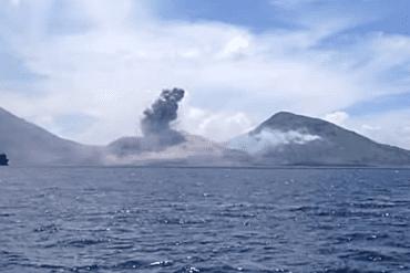 erupcija vulkana tavurvur