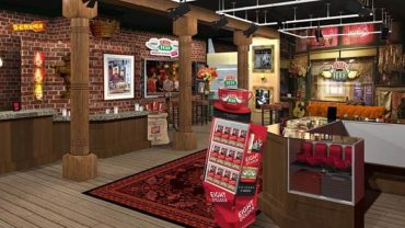 prijatelji central perk pop-up coffie trgovina
