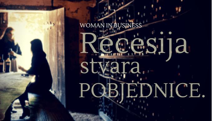 zene poduzetnistvo recesija kriza