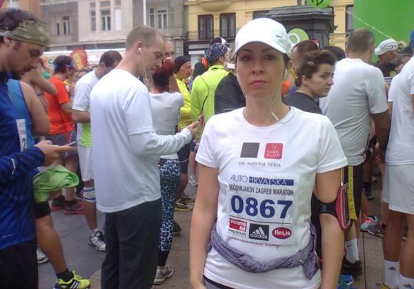Zagrebacki polumaraton 2013. Barbara Strelar coolklub.com