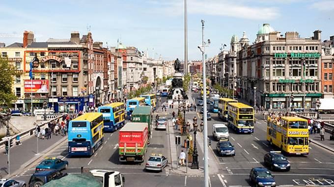 Život u Irskoj - Dublin