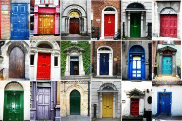 Vrata u DUblinu su obojana