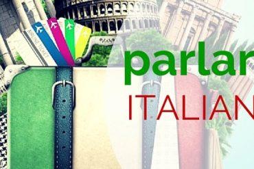parlare italiano-