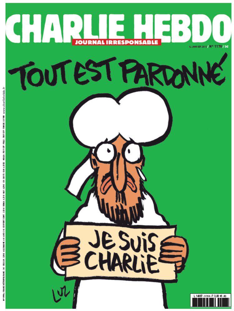 naslovnica tjednika Charlie Hebdo prva nakon terorističkog napada