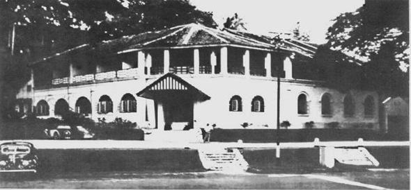 Originalna Hash Housa Kuala Lumpur otprilike 1938.   Foto HHH