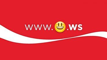 Coca Cola prvi emotikon u web adresi