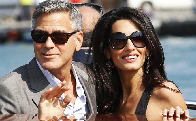 George Clooney i Amal