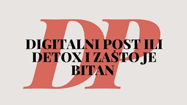 digitalni post ili detox isključenje i odmor