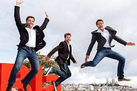 Suosnivači Blablacara s lijeva: Frederic Mazzella, Nicolasa Brusson i Francis Nappez