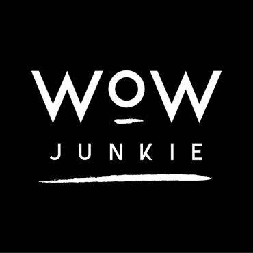 WOW-JUNKIE.com nova web trgovina wow-junkie logotip crni s bijelim slovima internet trgovina