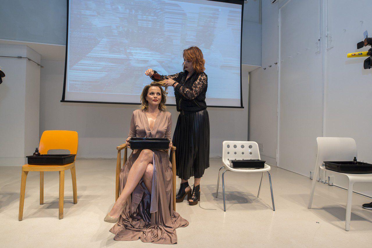 Sandra Bagarić i Evelin Benković vlasnica salona Evelin
