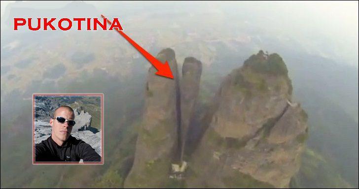 Jeb Corliss pukotina Kina