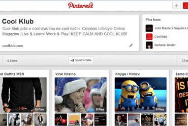 CoolKlub na Pinterestu