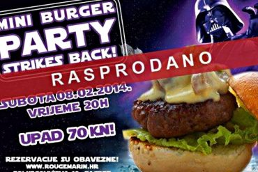 rougemarin rasprodan burger party