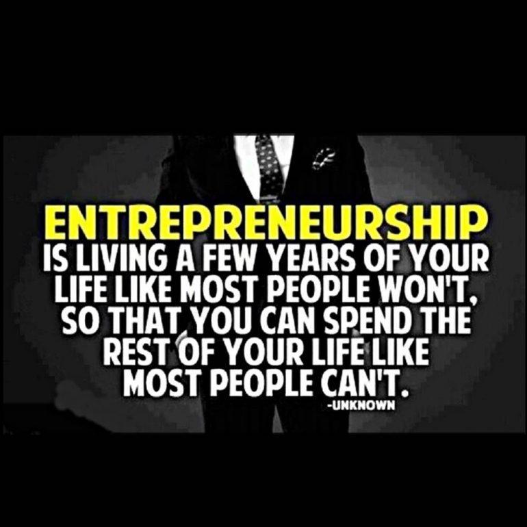 poduzetnik sa 40 godina citat o poduzetništvu