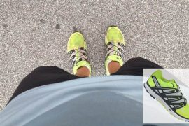 Salomon X_SCREAM test tenisica za trcanje