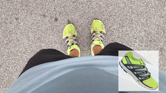 Salomon X_SCREAM test tenisica za trcanje