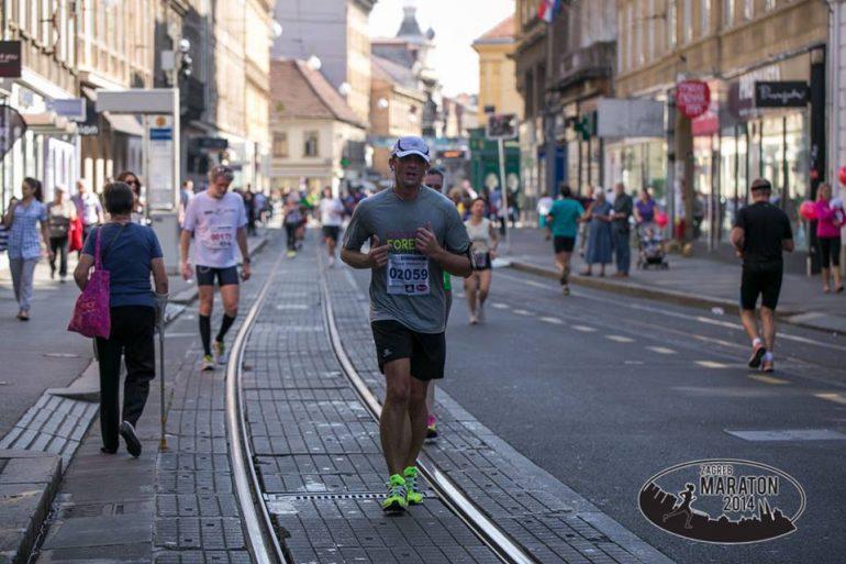 Claudio Kramarić Zagreb marathon/half 2014