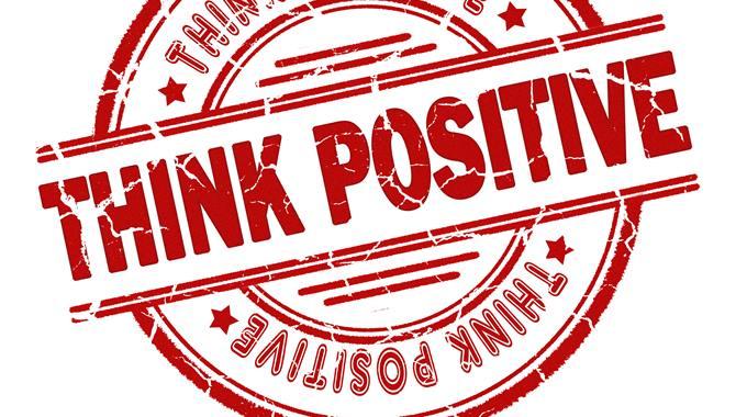 razmisljati pozitivno