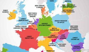 Po cemu se razlikuju zemlje EU i po cemu su najbolje