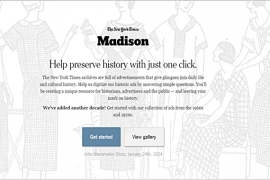 Projekt Madison New York Times digitalizacija oglasa u New York Timesu